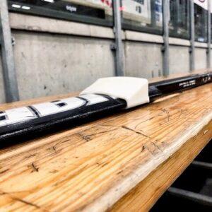 Hockey goalie stick protection